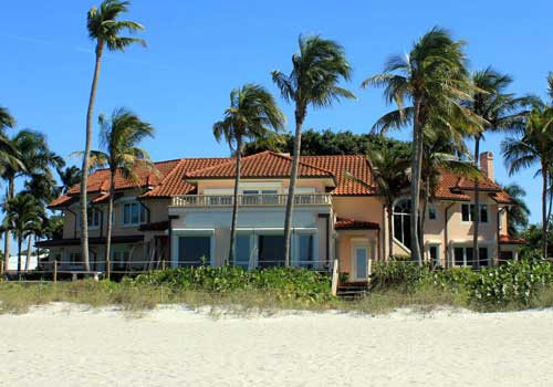 Naples Home on Beach